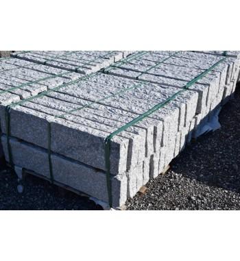Palisaden Granit gespitzt grau