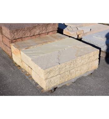 Blockstufen Mint Sandstein spaltrauh ca.15x35x100 cm