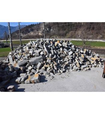 Mauersteine Pfitscher Gneis