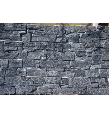 Wandpaneel auf Betonkern Dark-Grey