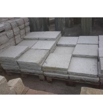 Pflasterplatten Granit grau