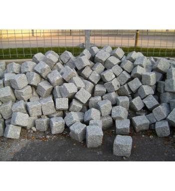 Pflastersteine Granit 18x18x18