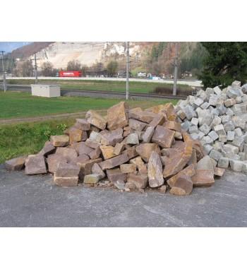 Trockenmauersteine Porphyr