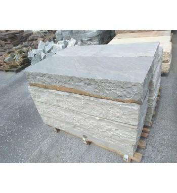 Blockstufen Kandla Grey spaltrauh ca.15x35x100 cm