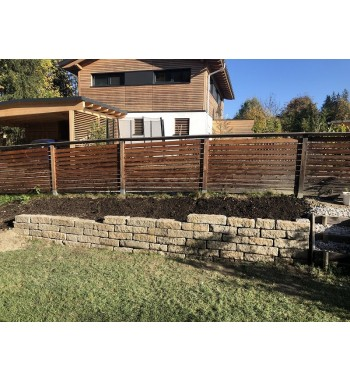 Leistensteine Granit gebraucht ca. 12x22-25cm