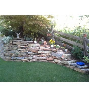 Trockenmauersteine Pfitscher Gneis