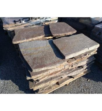 Porphyrplatten  unregelmäßig großformat