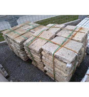 Pflasterplatten Granit gebraucht ca.60x60x8-12 cm