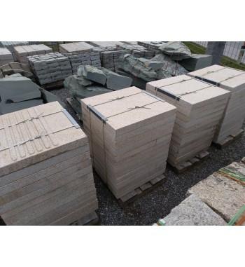 Pflasterplatten Granit Beige 80/80/8 cm